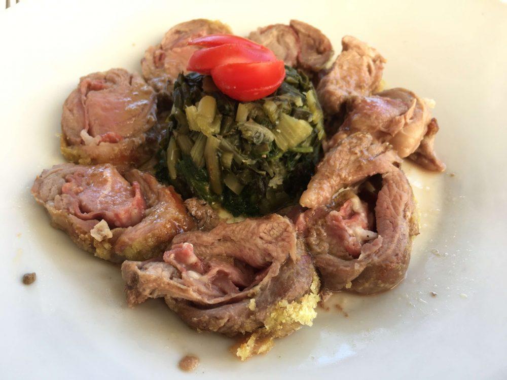 La Cantina del Pinzagrilli - Agnello Pomarancino farcito con salame e pecorino