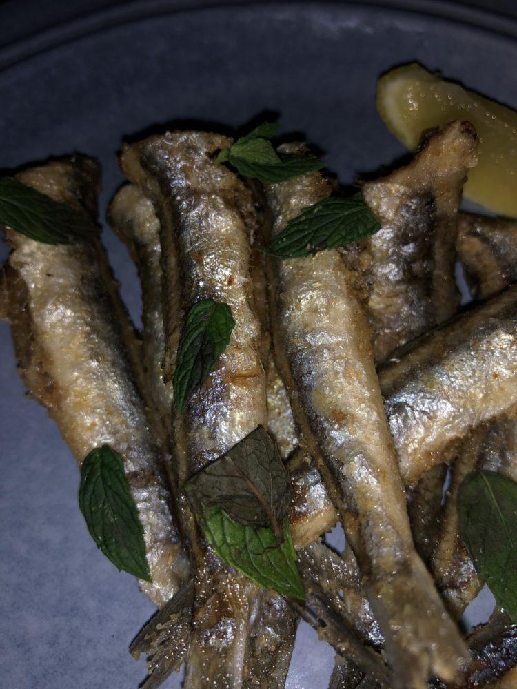 Malabar - alici fritte