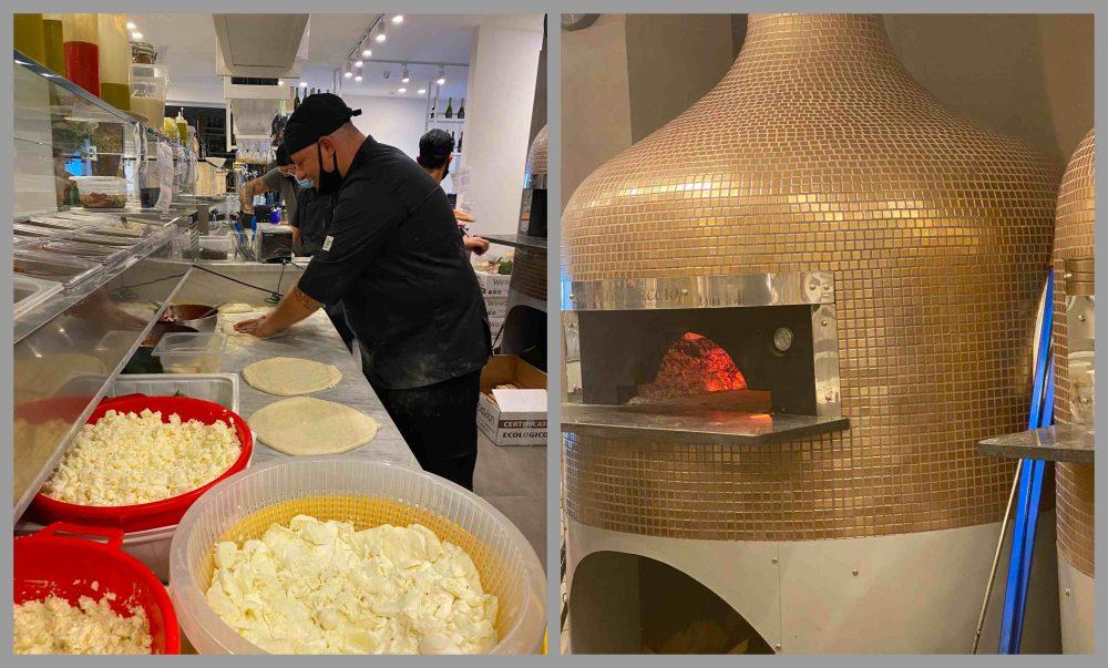 Pizzeria Luca Brancaccio - banco di lavoro e forni