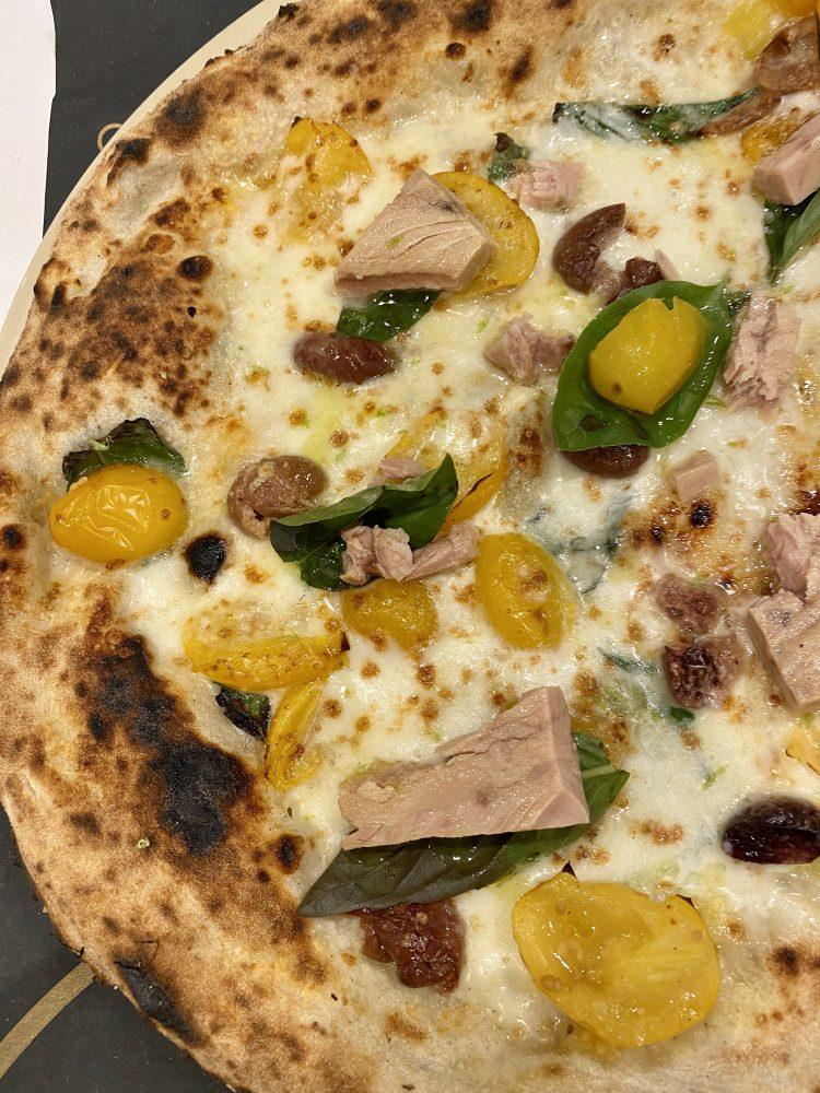 Pizzeria Luca Brancaccio - pizza La Gustosa