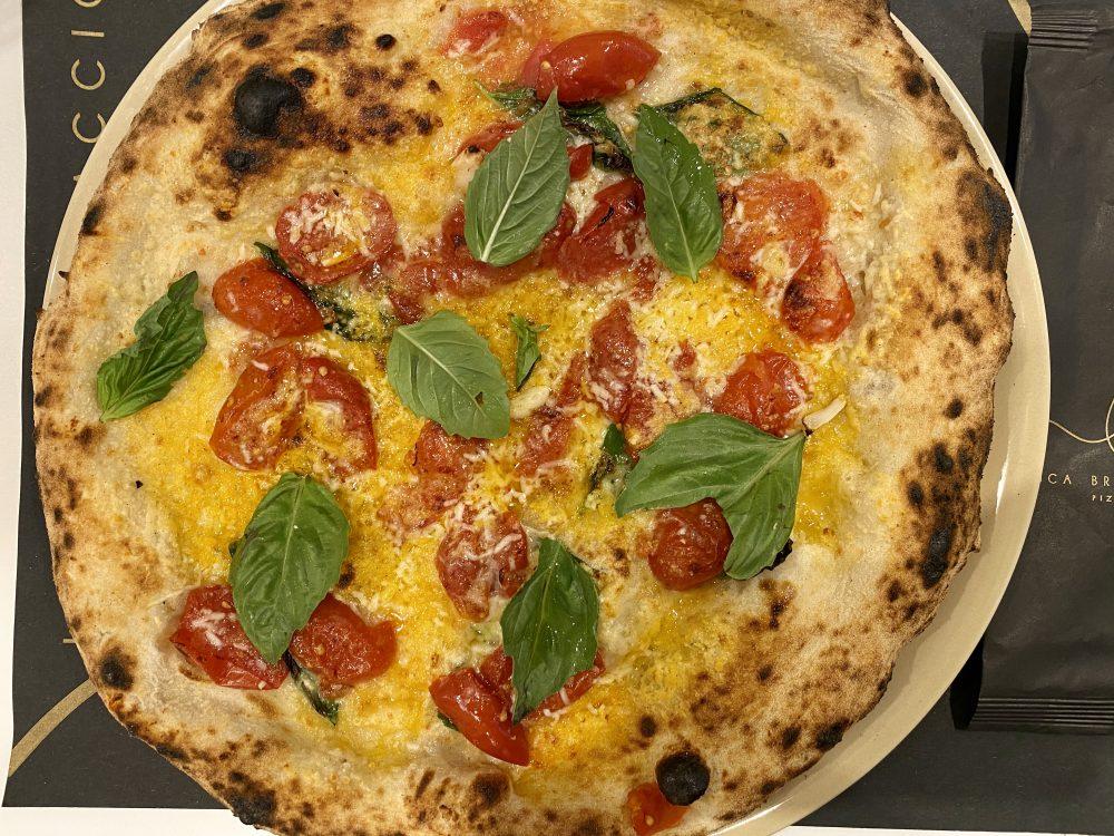 Pizzeria Luca Brancaccio - pizza Scarpariello