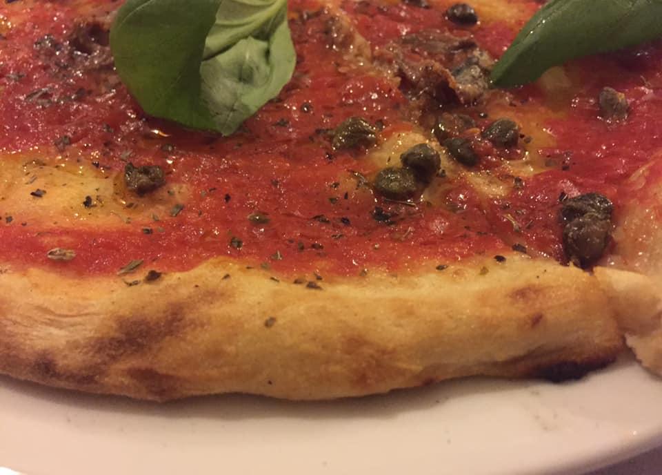 Pizzeria Quo Vadis, la marinara
