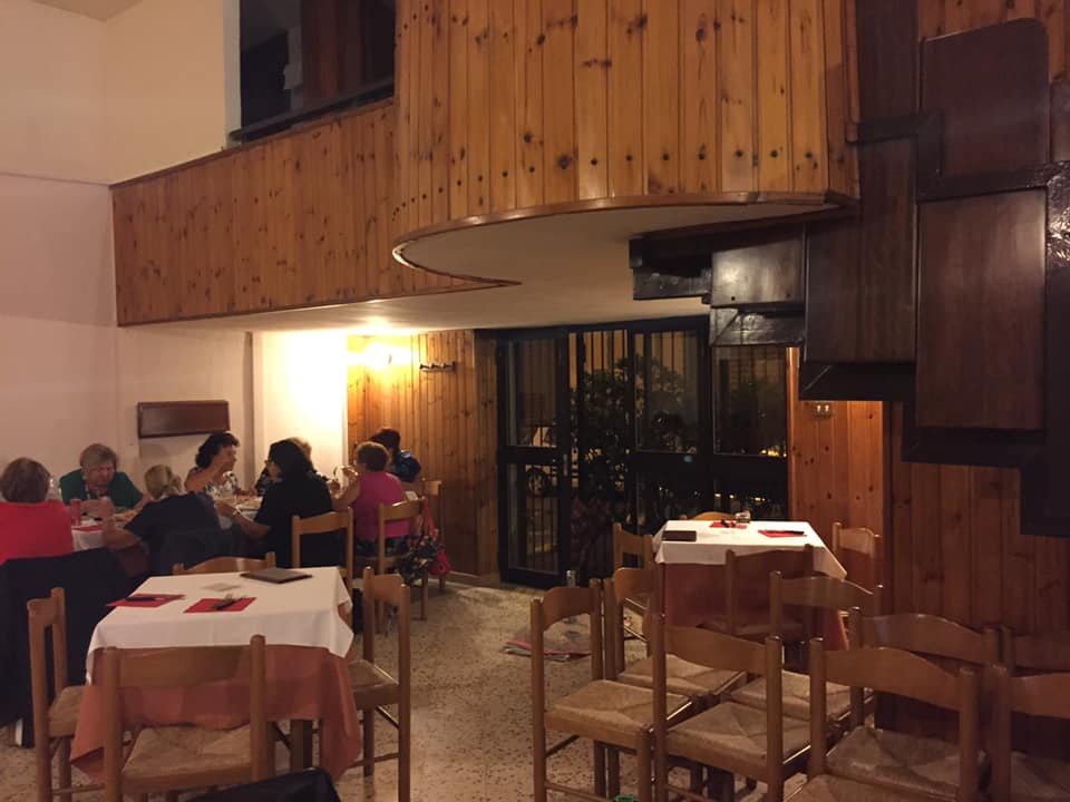 Pizzeria Quo Vadis, la sala