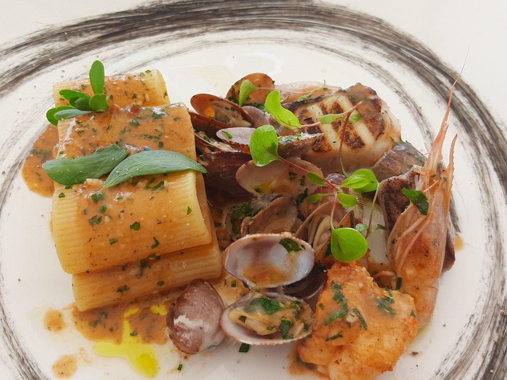 Ristorante Merlchio' - Paccheri al ragu' di pesce