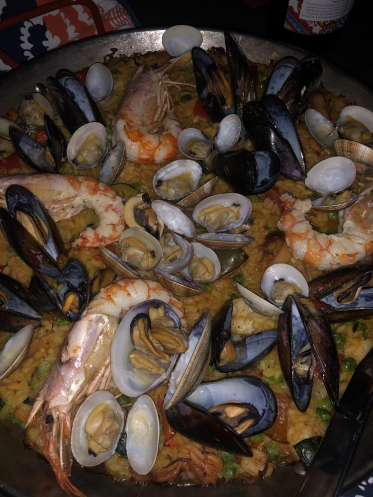 Tequila Bistrot - Paella