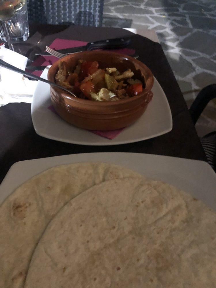 Tequila Bistrot - tortilla da asssemblare al tavolo