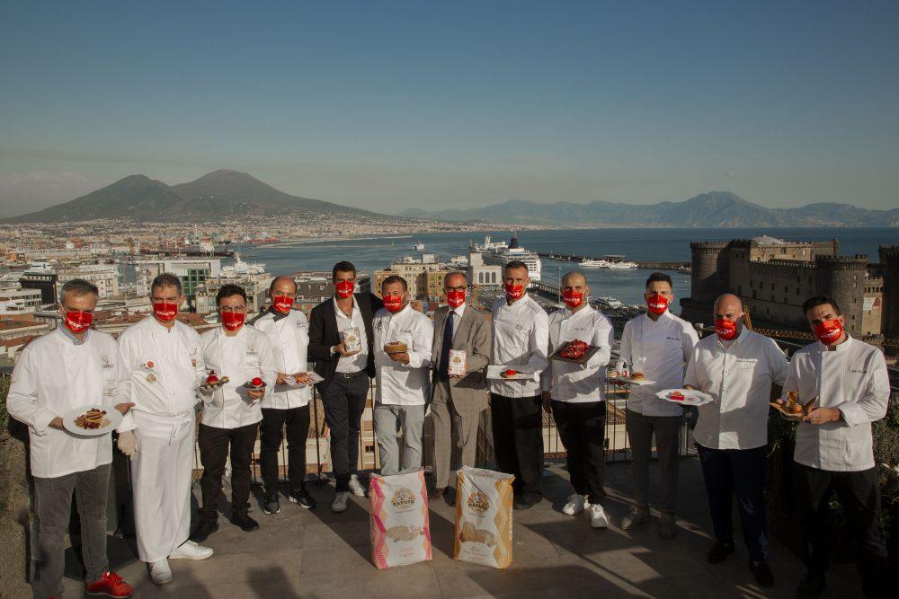 Tutti i concorrenti del contest San Genna' 2020 presso la terrazza del Renaissance Mediterraneo