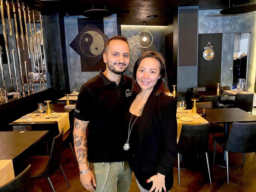 Yokohama, Rosy Chin e suo marito Paolo