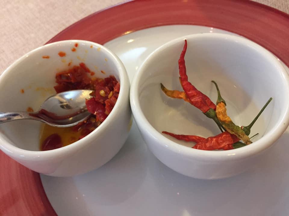 Locanda San Cipriano, il peperoncino