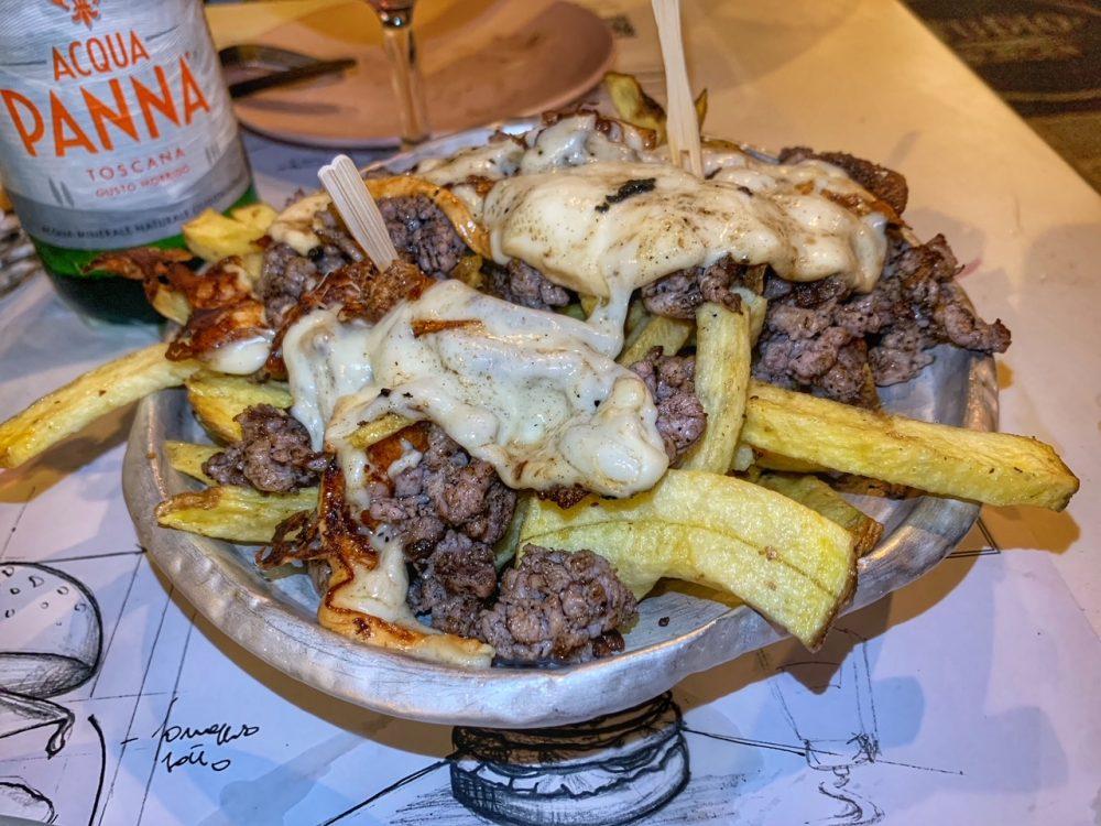 Studio Burger, patatine fresche fritte
