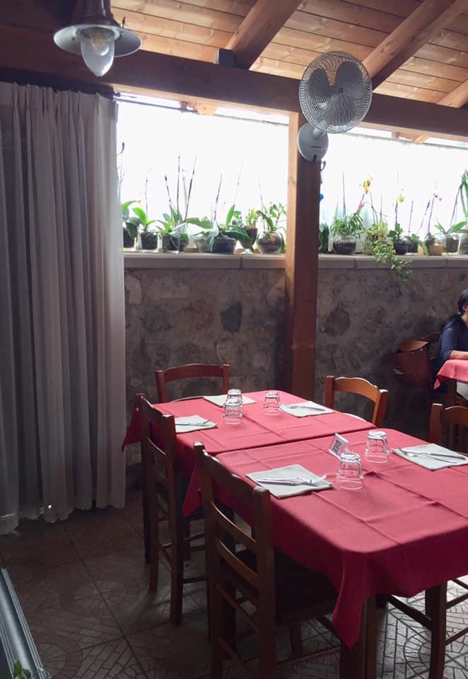 Locanda San Cipriano, la saletta verandata