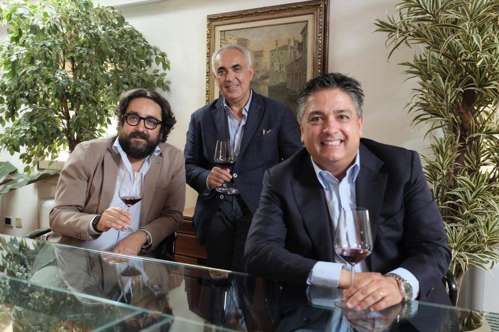 Aldo e Paolo Rametta con Cristiano Vitali