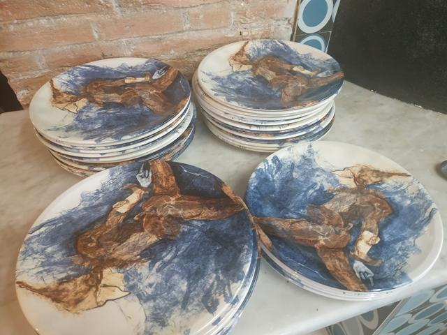 Antica Friggitoria La Masardona Roma - i piatti del maestro Antonio Nocera
