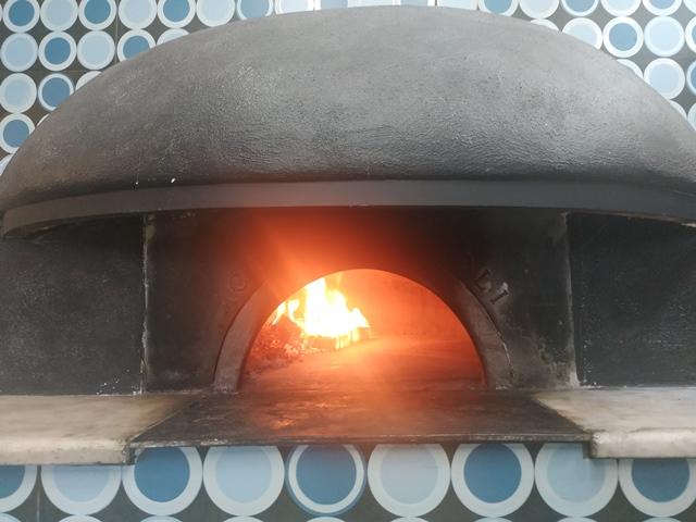 Antica Friggitoria La Masardona Roma - il forno a legna