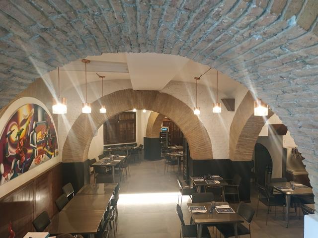 Antica Friggitoria La Masardona Roma - la sala prima del servizio