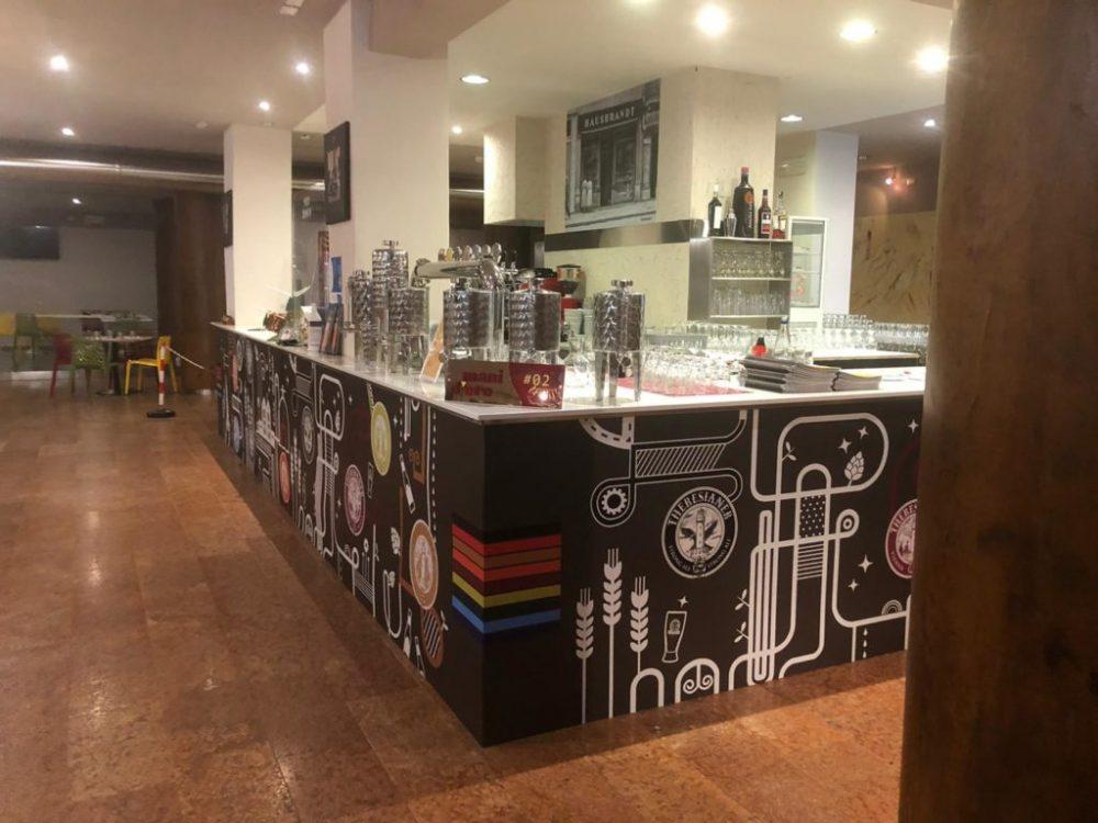 Arte Bianca - bancone bar