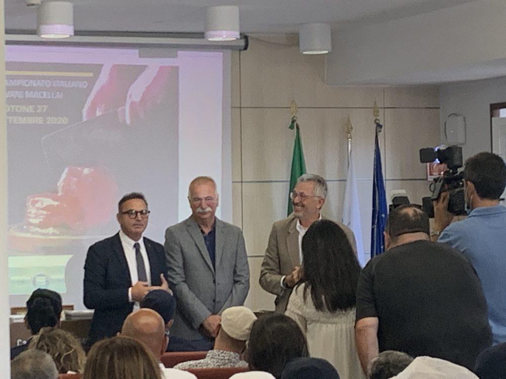 Campionato giovani macellai - Alessandro Cuomo, Marco Tassinari, Maurizio Arosio