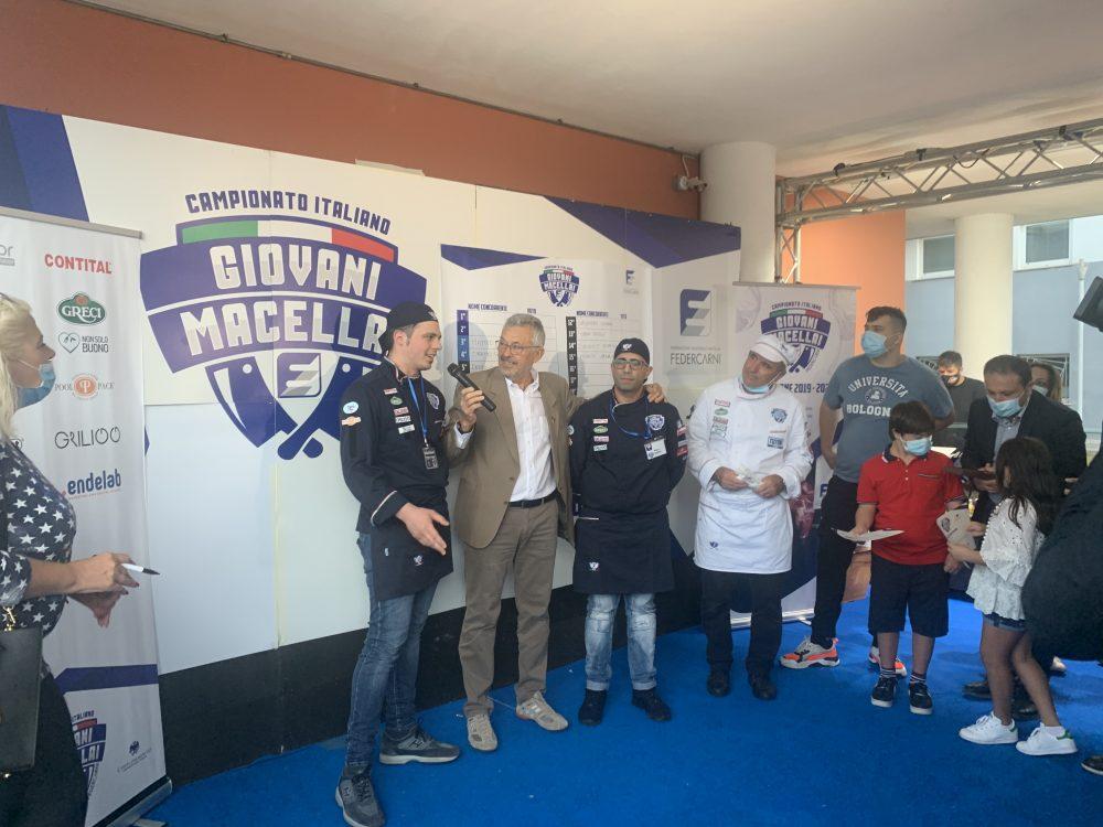 Campionato giovani macellai - i vincitori