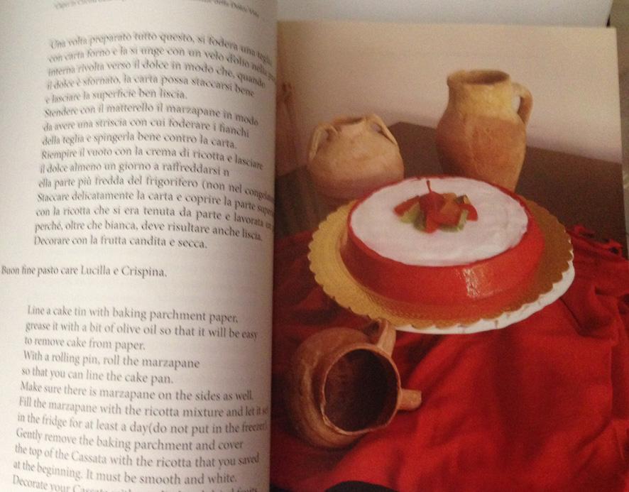 Capri in cucina - ricetta cassata