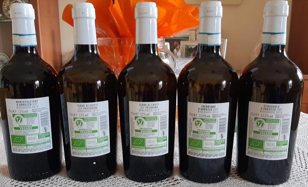 Controetichette vini Cantina Tollo