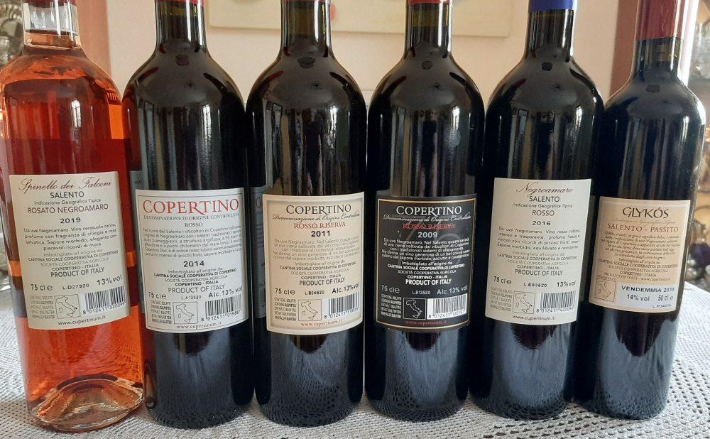 Controetichette vini Cupertinum