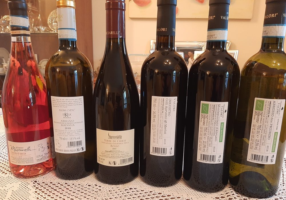 Controetichette vini Masciarelli - Valori