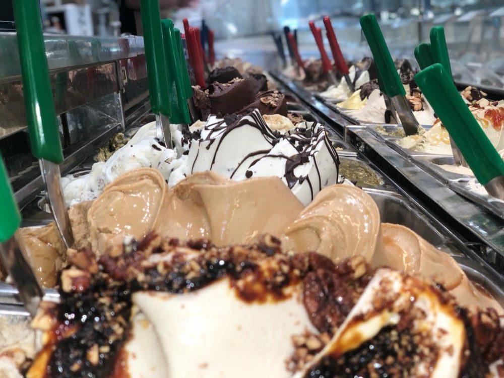 Cremeria Sottozero - banco gelati