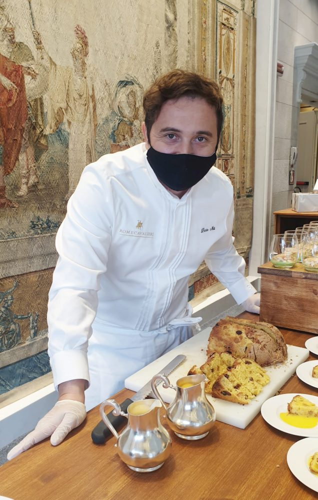 Dario Nuti pastry chef