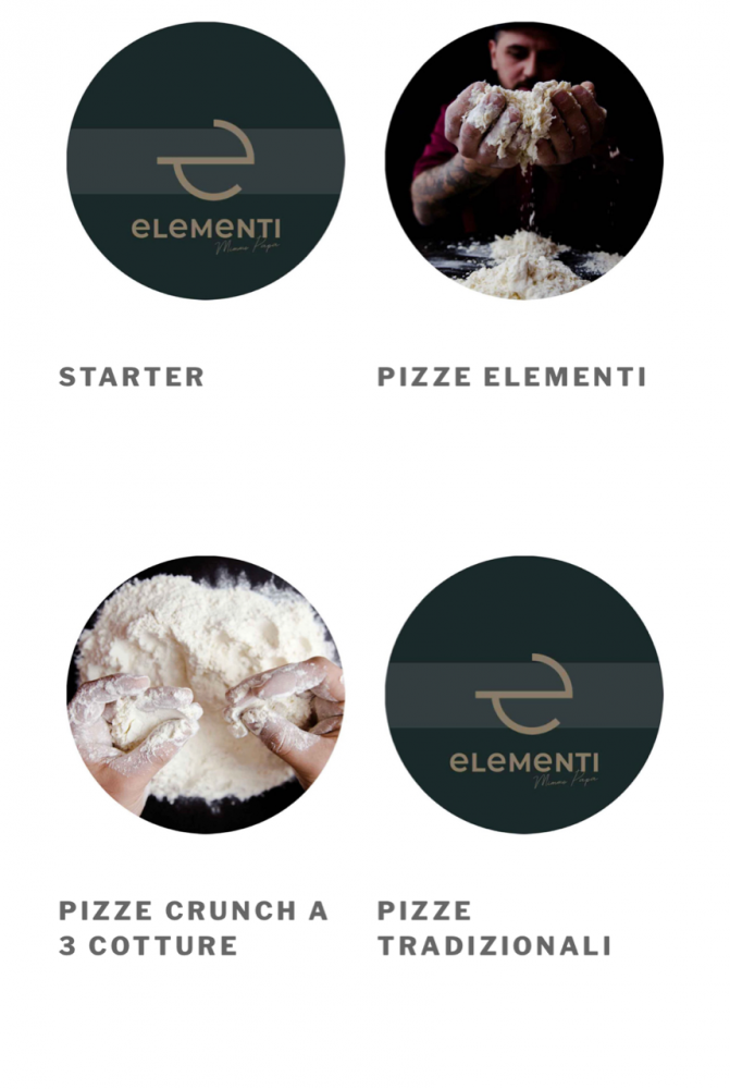 Elementi Pizzeria - menu' digitale