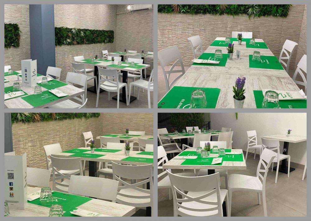 Elementi Pizzeria - sala e terrazza