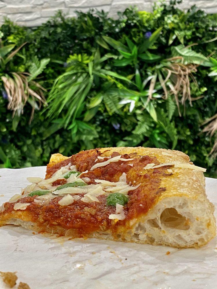 Elementi Pizzeria - sezione pizza Crunch a tre cotture