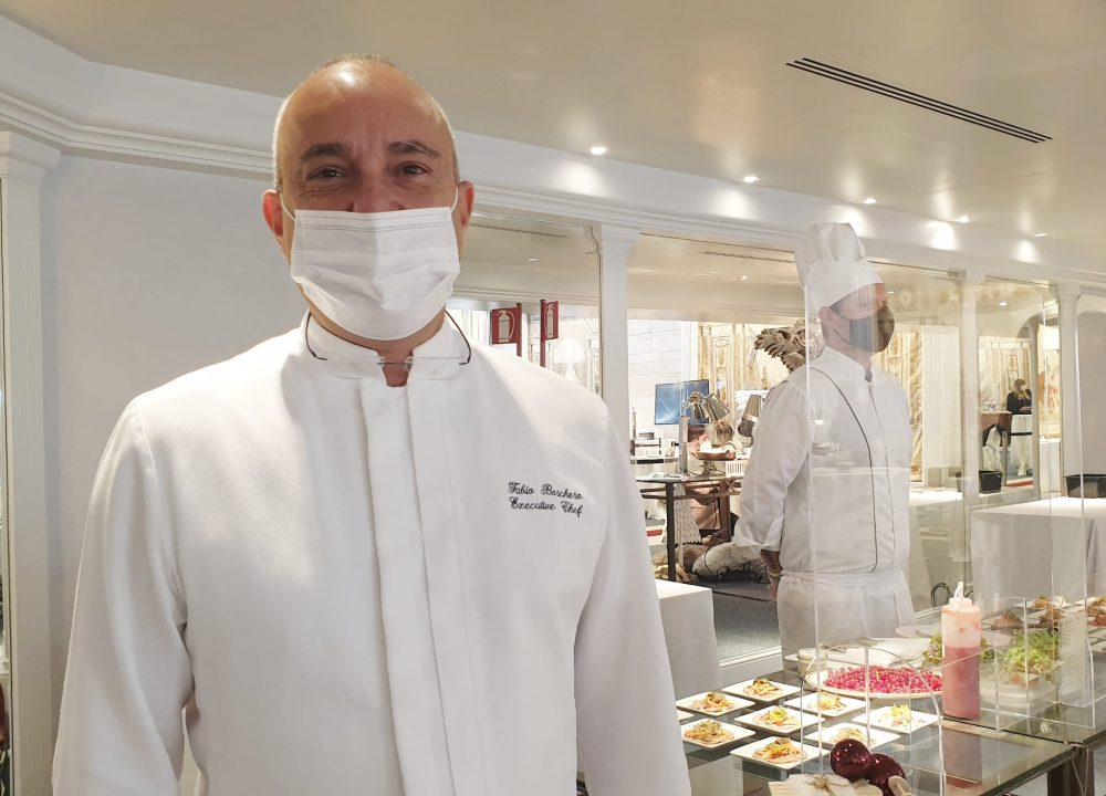 Fabio Boschero executive chef