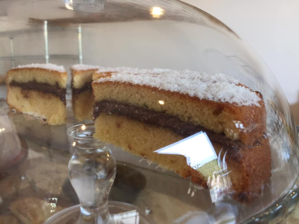 Forno San Cipriano, pan di spagna al cioccolato