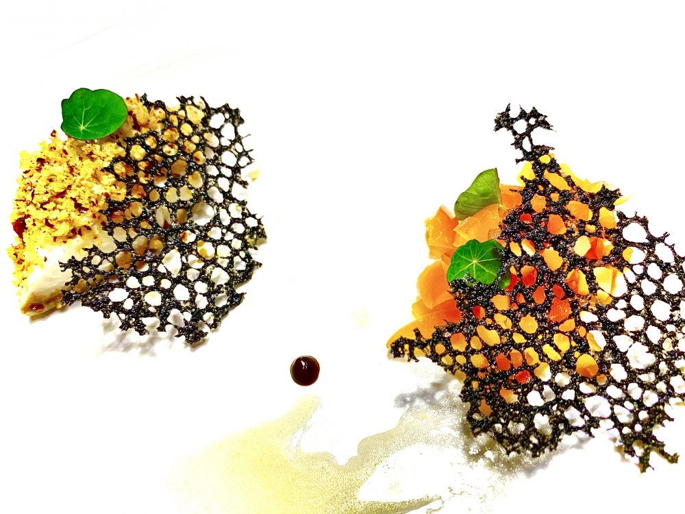 Black Cod e Peperoni Hunan Style