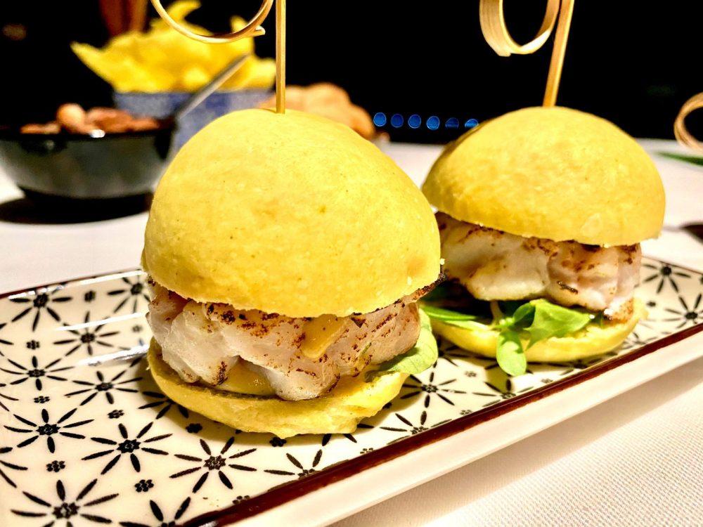 No.Ro., Bun Homemade e Burger di Ricciola