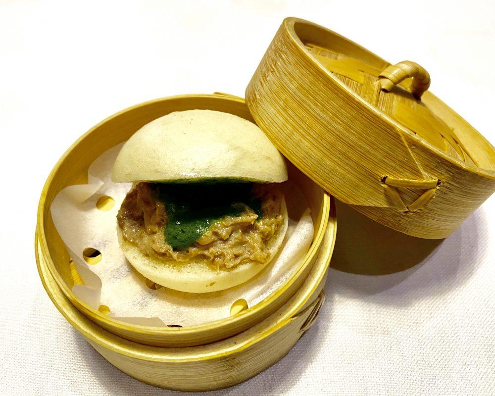 Serica, Bao con Lingua e Salsa Verde