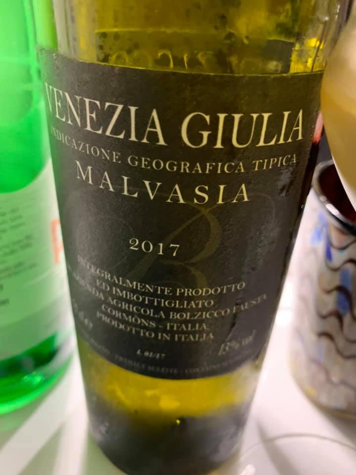 Malvasia 2017 Bolzicco