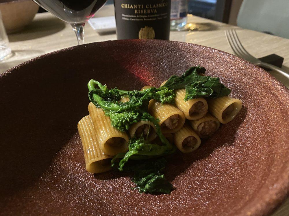 Milo's House - Rigatoni broccoli e salsiccia