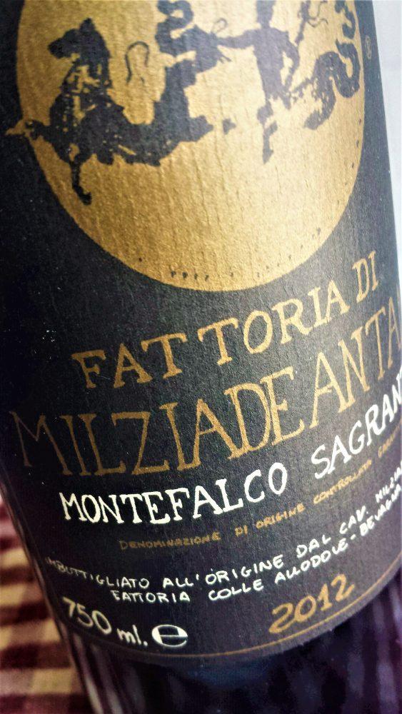 Montefalco Sagrantino Milziade Antano 2012, Colleallodole