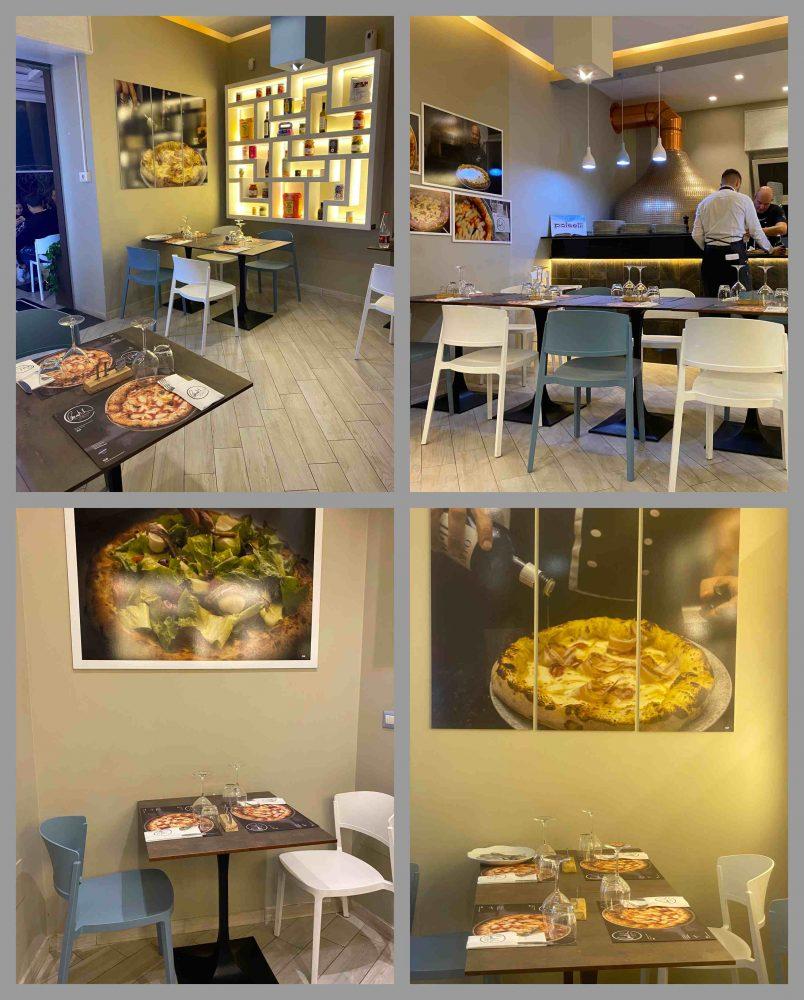 Pizzeria Cammarota - arredo e sala