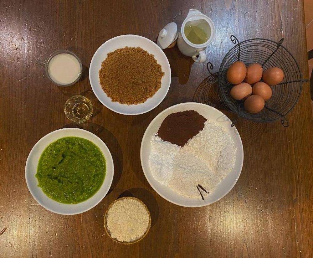 Plumcake alle zucchine e cacao - Ingredienti