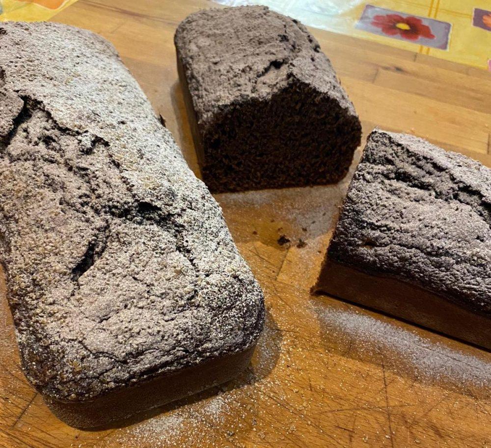 Plumcake alle zucchine e cacao
