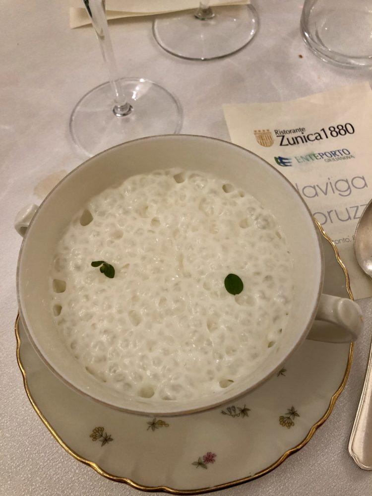 Ristorante Zunica 1880- latte al fieno
