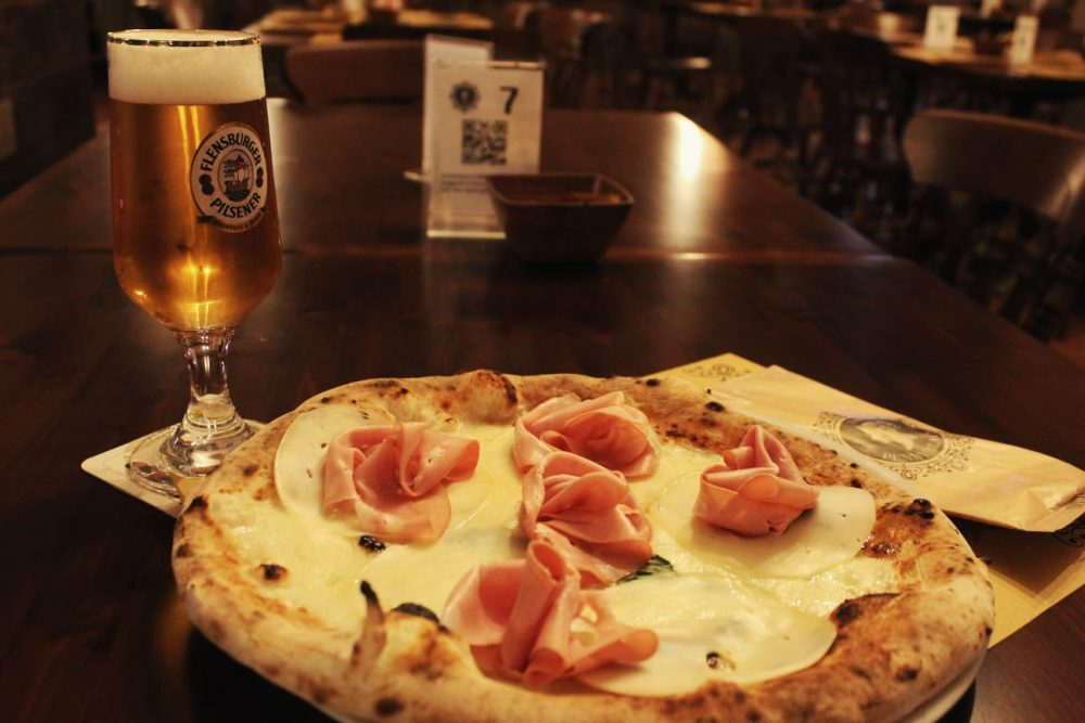 The Penny Black - pizza