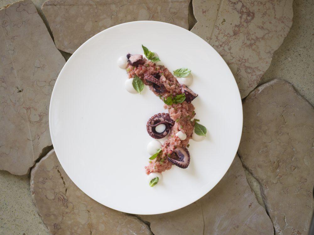 Vitantonio Lombardo is head chef at the michelin starred Vitantonio Lombardo Ristorante in Matera, Italy