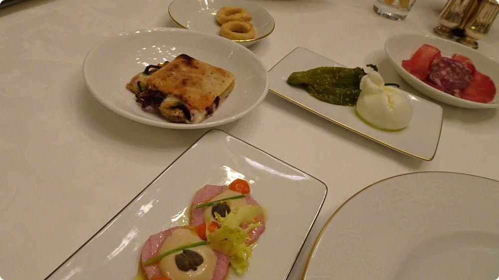 domenica palagio pranzo vito mollica four seasons firenze antipasto panuozzo