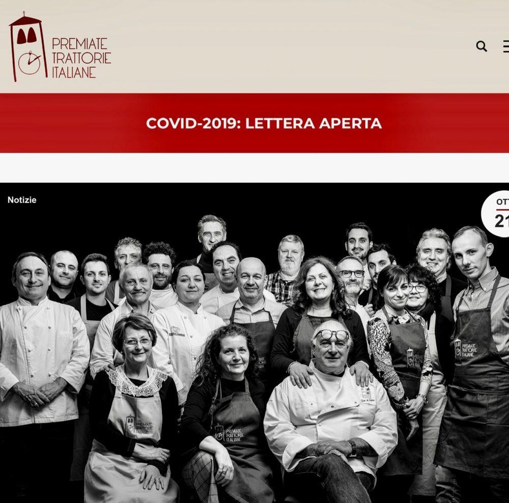 Lettera aperta del presidente delle Premiate Trattorie Italiane