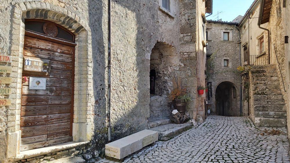 Zuppa di lenticchie – S. Stefano di Sessanio AQ, il borgo