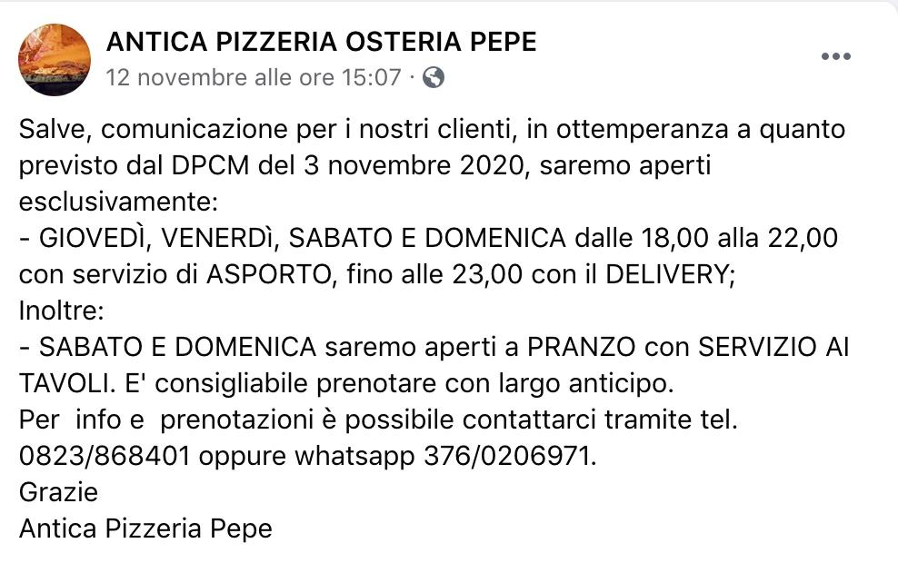 Antica Pizzeria Pepe