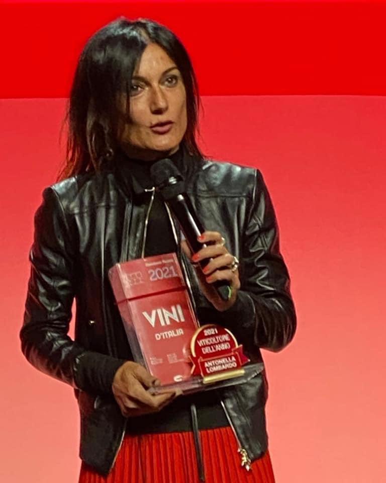 Antonella Lobardo - Migliore viticoltrice emergente